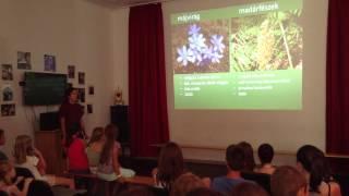 Előadás a Zselic növény- és állatvilágáról