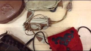 Hajlított bőr díszek készítése - bőrműves kézműves oktatás