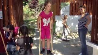 Gólyalábazás - IKSZT népi játékok - Szenna